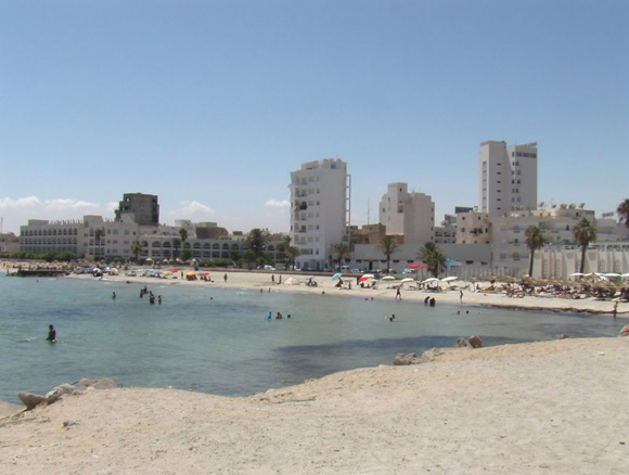 Сусс пляжи туристов 35